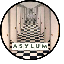 Asylum sticker image