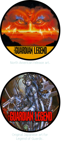 The Guardian Legend sticker images