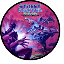 Street Fighter 2010 Sticker Image