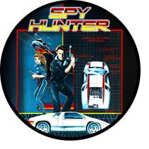 Spy Hunter sticker image
